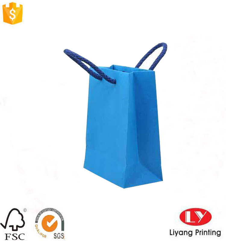 paper bag with cotton handle