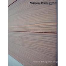 Woodgrain Co-Extrusion Wandpaneel