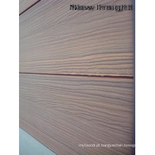 Painel de parede de co-extrusão de Woodgrain