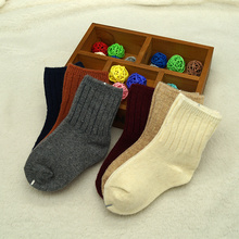 Fashion Design Multi-Color Children Ankle Wool Socks