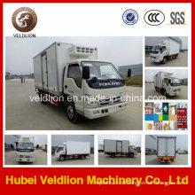 4X2 Mini 9ton Frisch Vegatable Kühlwagen
