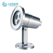 LEDER SS304 Lighting Solution 3W LED Underwater Light