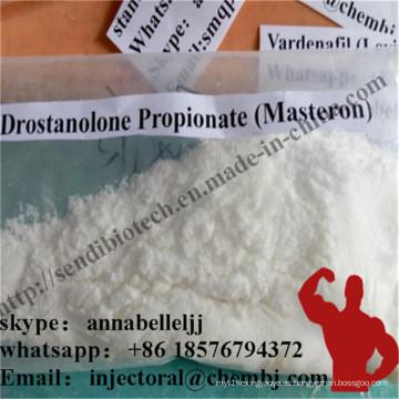 Alta pureza de las hormonas esteroides CAS: Propionato de Drostanolone 521-12-0 (Masteron)