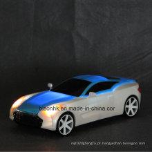 Moda flexível lâmpada de mesa LED, carro forma lâmpada