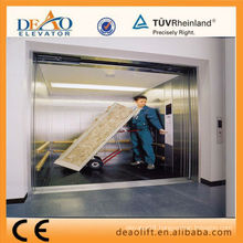 Safety Freight Elevator with Single Entrance