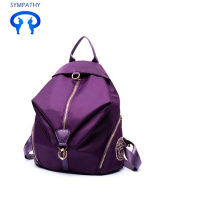Casual simple knapsack nylon Oxford cloth travel bag