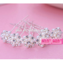 hot sale gift ladies floral bride alloy fashion girl hair pin