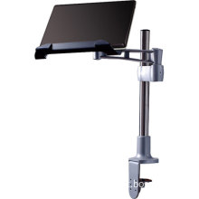 Ergonomic LCD Monitor Arm with Laptop Holder