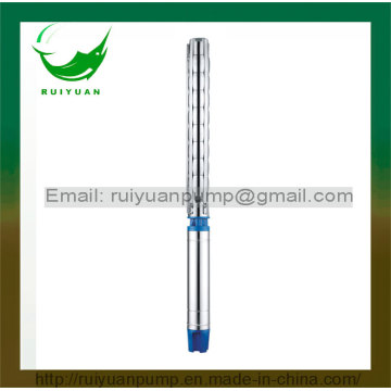 6 Inches Good Quality Stainless Steel Submersible Borehole Deep Well Pump Electric Pompa with Ce Approved