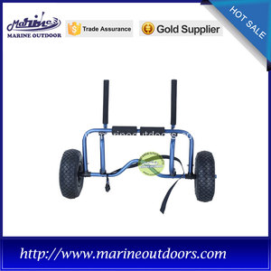 adjustable aluminum kayak carrier for sit on top kayak / canoe