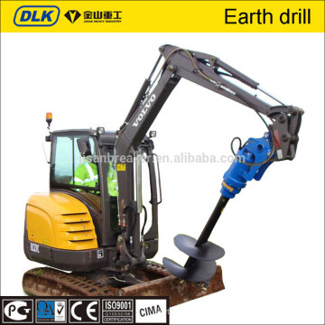 earth auger drill excavator attachments