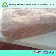 Fibra de lino no tejida respetuosa del medio ambiente fieltro para textiles para el hogar