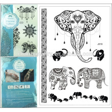 long lasting temporary tattoo fake flash tattoo high quality tattoo sticker j018
