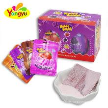 Halal Bubble Gum with sour powder Candy