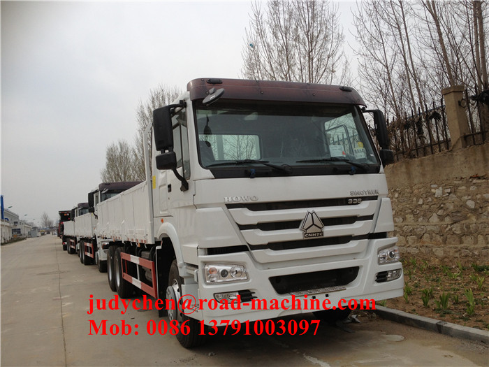 336hp Capacity 25 40 Tons Cargo Truck Chassis