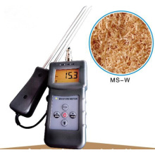 Ms-W Wood Chips Powder Moisture Meter Wood Shaves Moisture Analyzer
