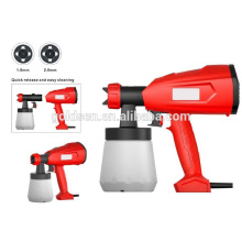 Hot Sale 350W Portable HVLP Hand Held Paint Sprayer Electric Car Painting Spray Gun GW8181