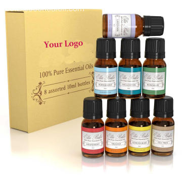 Top 8 100% Pure Therapeutic Grade Essential Oils Set de regalo
