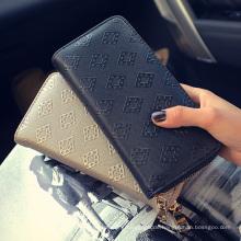 2016 heißer Verkauf klassische Mode Design Brieftasche für Frauen