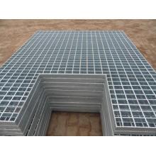 Panel de rejilla de acero galvanizado especial