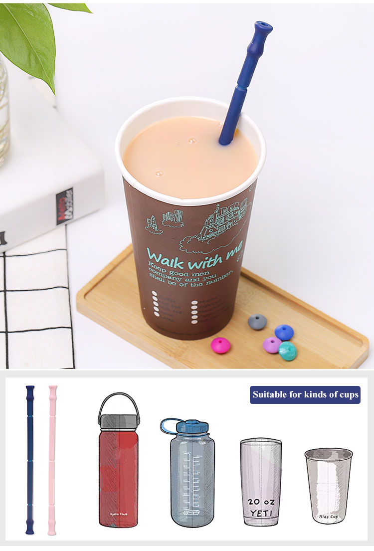 Fold Up Straws Keychain Hot Sale