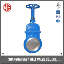 Green wafer manual knife gate valve