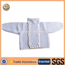 Mignon tricoté bébé bébé pull en cachemire vente