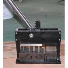 25mm veneciana persianas Headrail punzonado y máquinas de corte