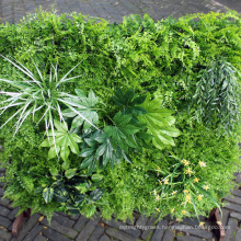 High quality garden DIY fire resistant decorative greenery wall with foliage