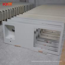 Dark Gray Kitchen Countertop Custom Stone Acrylic Stone Bathroom solid surface vanity top