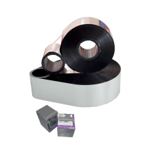 tto ribbon AT808 EnhancedWAX/RESIN TTO suitable for near edge for thermal barcode printer