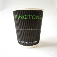 Vertical Ripple Wall Paper Coffee Cup Accessories (Rwpc-28)