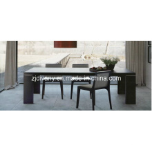 Europeia moderna sala de jantar móveis mesa de jantar de madeira (E-22)