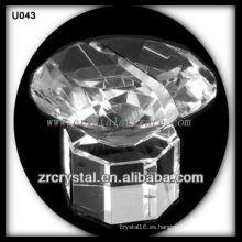 K9 Unique Crystal Business Card Holder