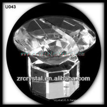 K9 Porte-cartes de visite en cristal unique