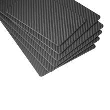Tarjetas de visita personalizadas de fibra de carbono 100% de grado A