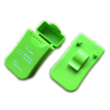 Green Gifts Plastic Ashtray Belt Clip Carry Case