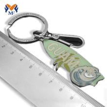 Porte-clés avec nom gravés sur métal en vrac