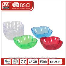 HAIXING Popular Flower Plastic bowl