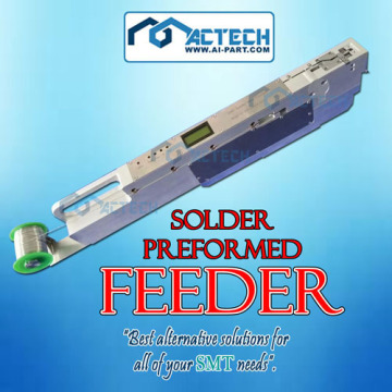 Automatic Preform Solder Feeder