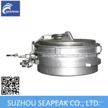 Aluminum Guillemin Couplings Caps with Chain
