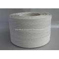 corda de papel de cor branca