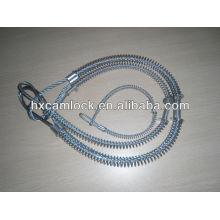 Câble de sécurité en acier / acier inoxydable
