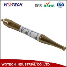 Pieza que trabaja a máquina de la precisión del CNC de cobre amarillo de alta calidad de encargo
