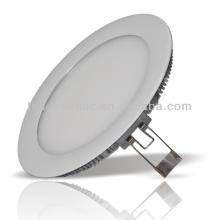 Chine fabricant nouvelle arrivée ronde en aluminium blanc coquille haute lumière en aluminium coque ronde smd led panneau de lumière