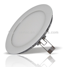 China manufacturer new arrival round white aluminum shell hight bright aluminum shell round smd led panel light