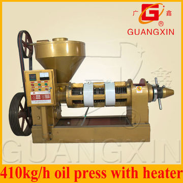 Máquina de fazer óleo de gergelim com aquecedor Yzyx140wk