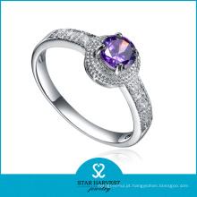 Gemstone 925 anel de jóias de prata com entrega em 2 dias (R-0579)