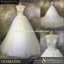 2016 China Dress Fabricante casamento vestido sance casamento