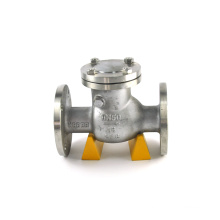 Russia standard high quality swing type check valve pn16 with gost certificate